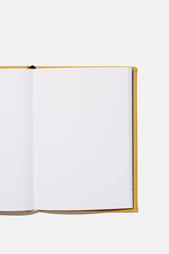 "A5 Sketch Notebook (8.27"" x 5.83""), MUSTARD"