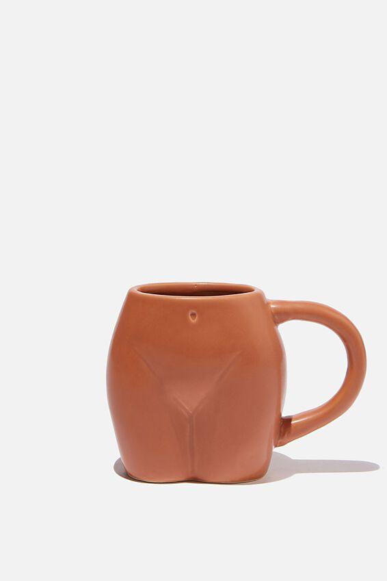 Novelty Shaped Mug, SAG BUTT