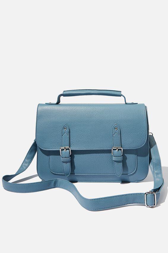 Milton Satchel Bag, BLUSH & CORAL MIX