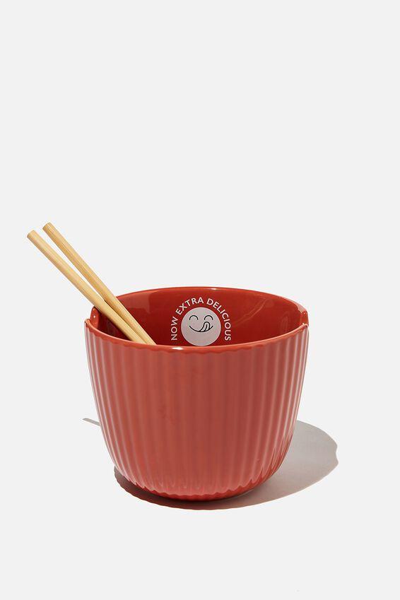 Noodle Bowl, TEXTURED RUST