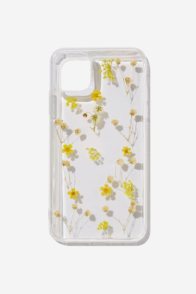 Protective Phone Case Iphone 11 Pro Max, TRAPPED MICRO FLOWERS