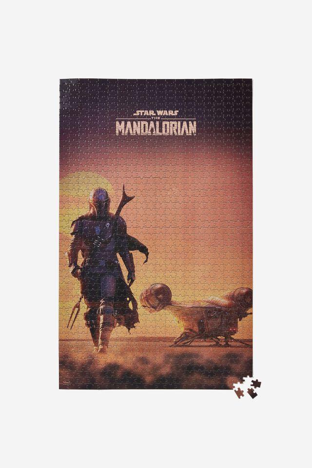 Star Wars 1000 Piece Puzzle, LCN LUC MANDALORIAN