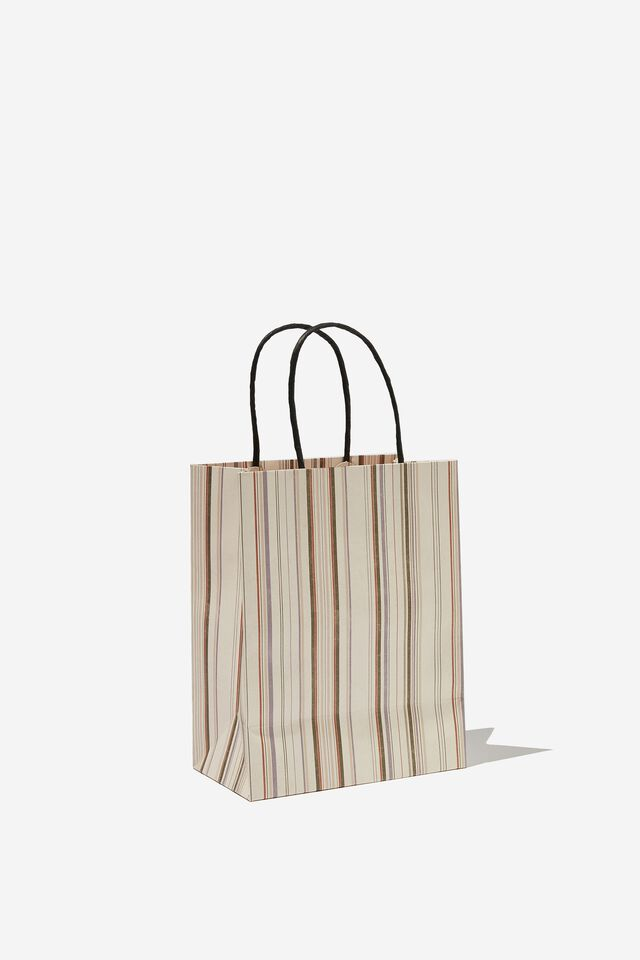 Get Stuffed Gift Bag - Small, VARIEGATED STRIPE