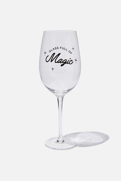 Mega Wine Glass, MAGIC!
