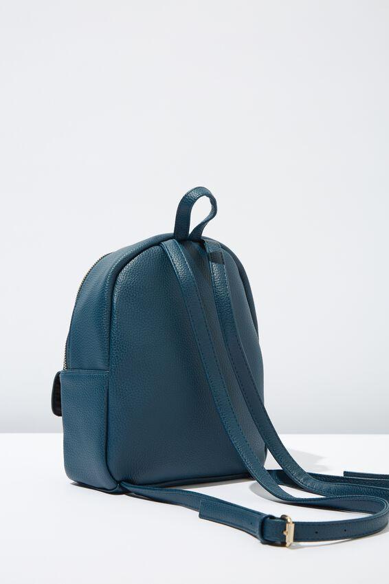 Mini Cairo Backpack, TEAL TORTOISE SHELL