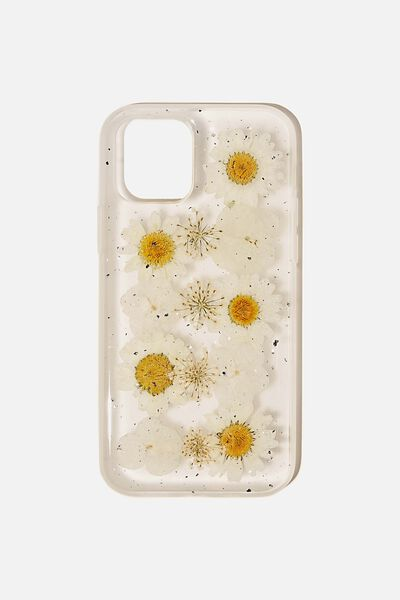 Protective Phone Case Iphone 12, 12 Pro, TRAPPED DAISY