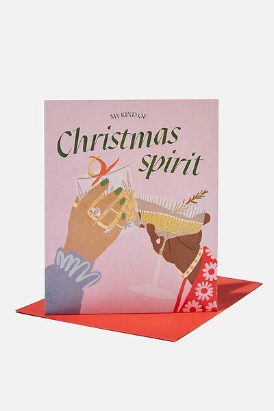 Christmas Card 2021, MY KIND OF CHRISTMAS SPIRIT!