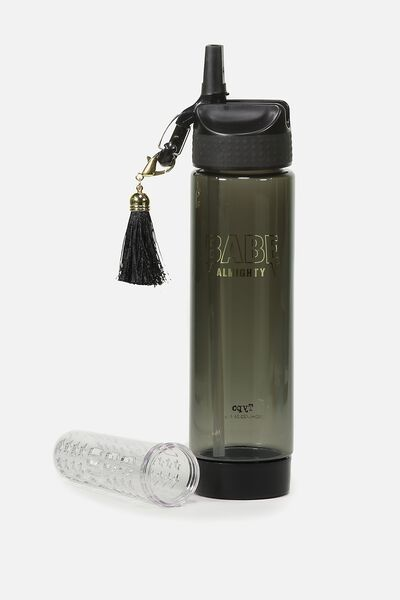 Infuser Drink Bottle, BABE ALMIGHTY