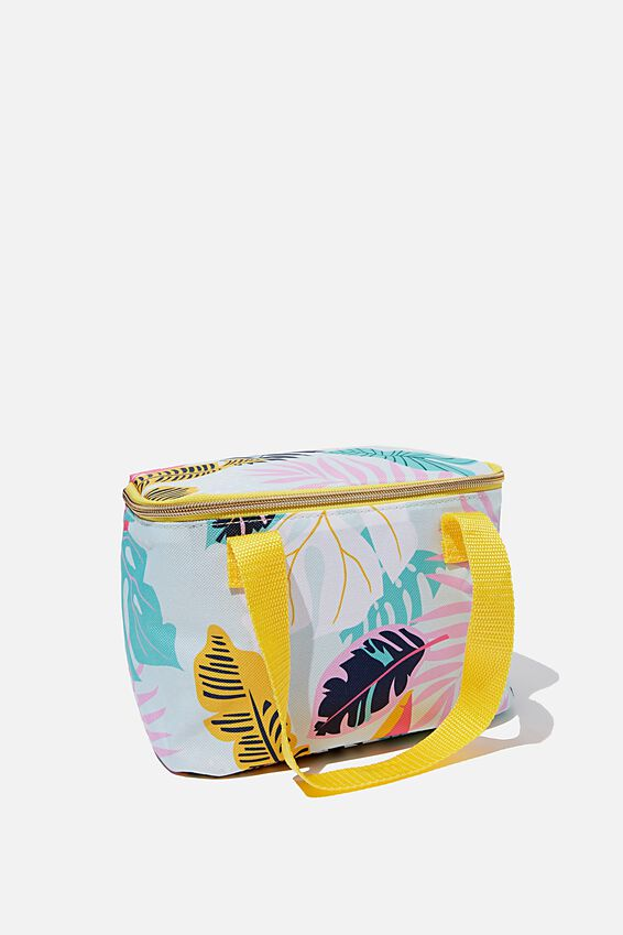 Eat It Up Lunch Bag, GIRLY PALM PRINT