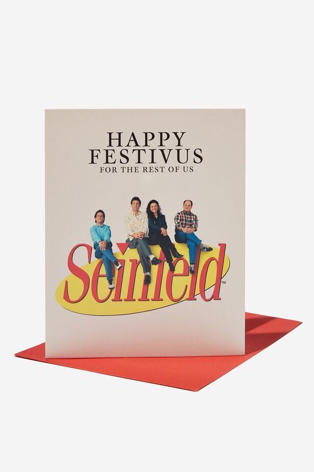 Seinfeld Christmas Card 2021, LCN WB SEINFELD FESTIVUS