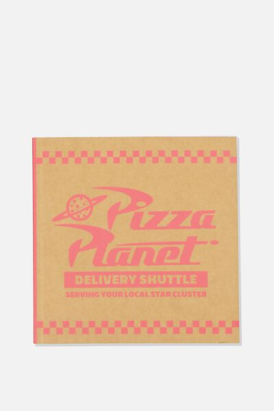 License Square Notebook, LCN DIS TS PIZZA PLANET