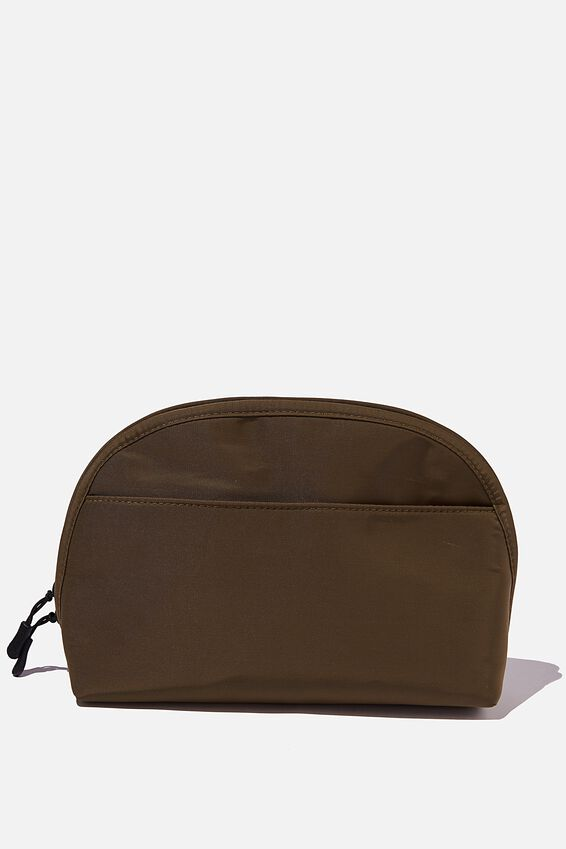 Essential Pouch, KHAKI AND PAPAYA