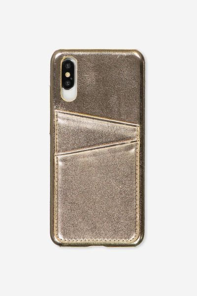 Cardholder Phone Case Huawei P20, ROSE GOLD