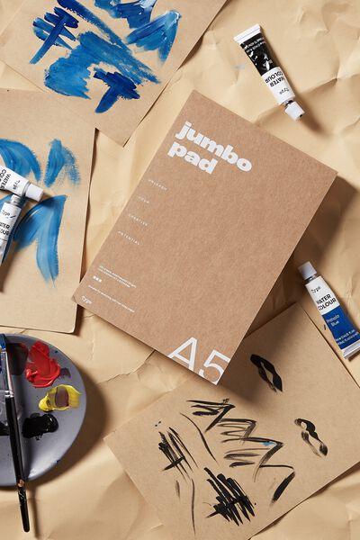 The Chunky A5 Art Pad, KRAFT