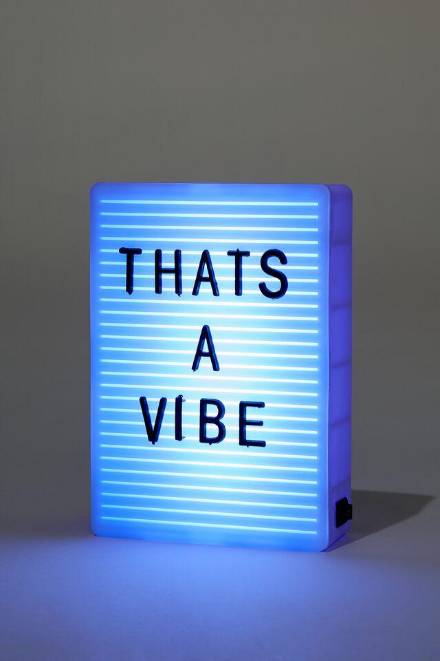 Micro Light Box, PALE LILAC PEGBOARD
