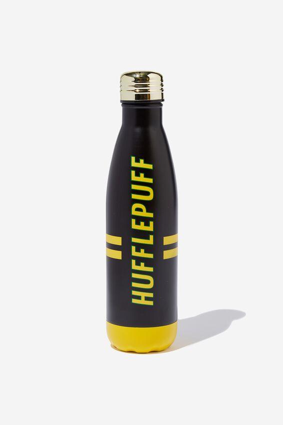 Premium Metal Drink Bottle, LCN WB HUFFLEPUFF