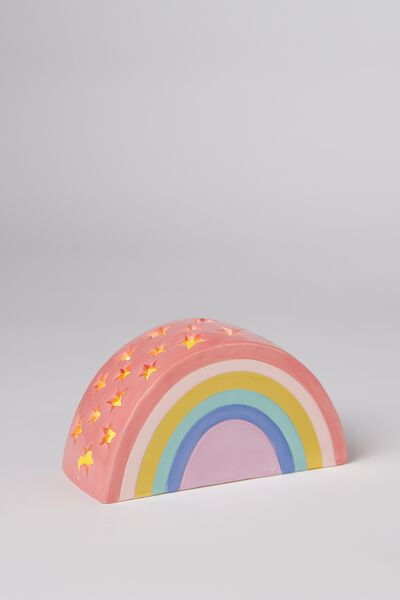 Ceramic Novelty Light, RAINBOW