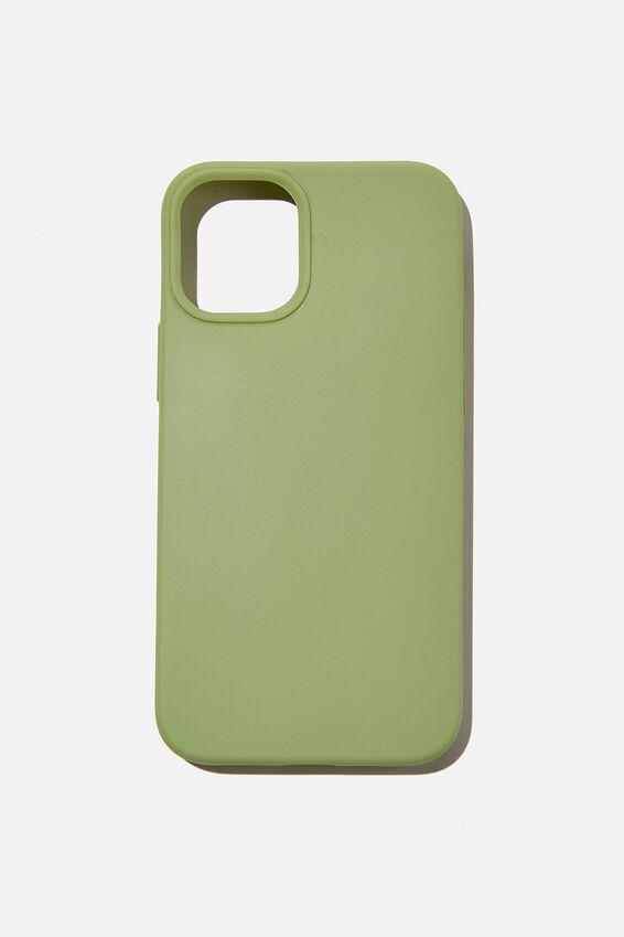 Slimline Recycled Phone Case Iphone 12 Mini, ALLY GREEN