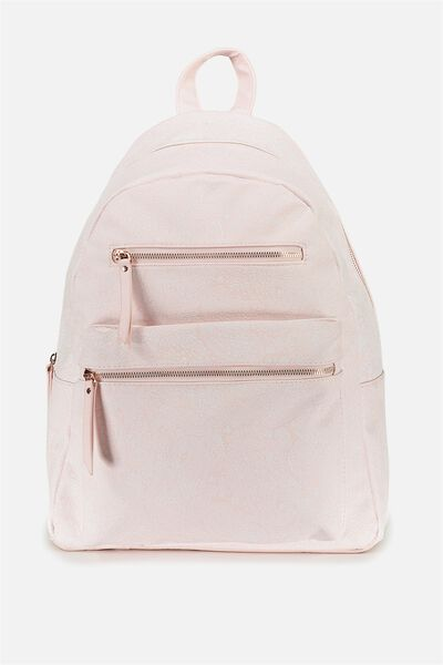 Campus Backpack, BLUSH LACE