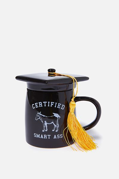 Specialty Novelty Mug, GRADUATION SMART ASS!