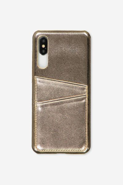 Cardholder Phone Case Huawei P20 Pro, ROSE GOLD