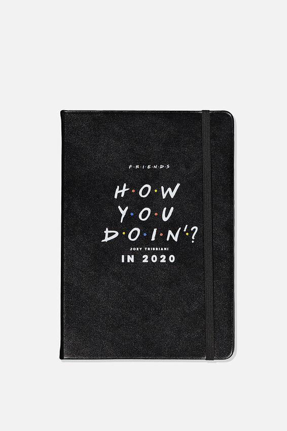 """2020 A5 Weekly Buffalo Diary (8.27"""" x 5.83""""), LCN WB FRI FRIENDS"""