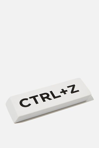 Giant Eraser, CONTROL Z