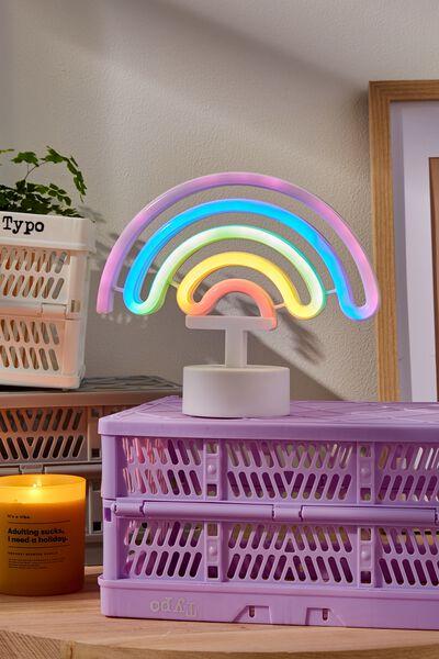 Shaped Desk Lamp, RAINBOW
