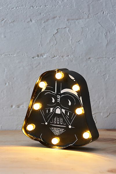Shaped Mini Marquee Light, LCN DARTH VADER