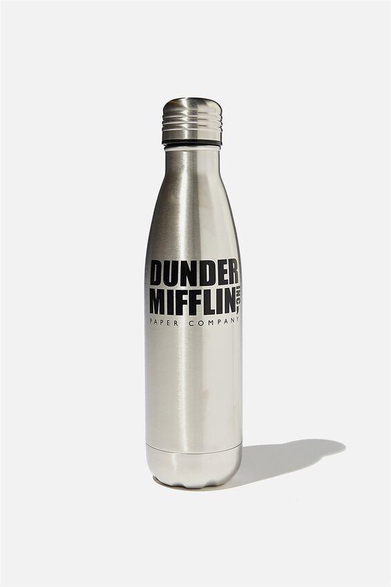 The Office Metal Drink Bottle, LCN UNI THE OFFICE DUNDER MIFFLIN