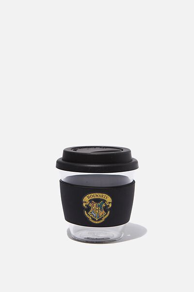 All Day Travel Cup 8Oz, LCN WB HPO HOGWARTS CREST