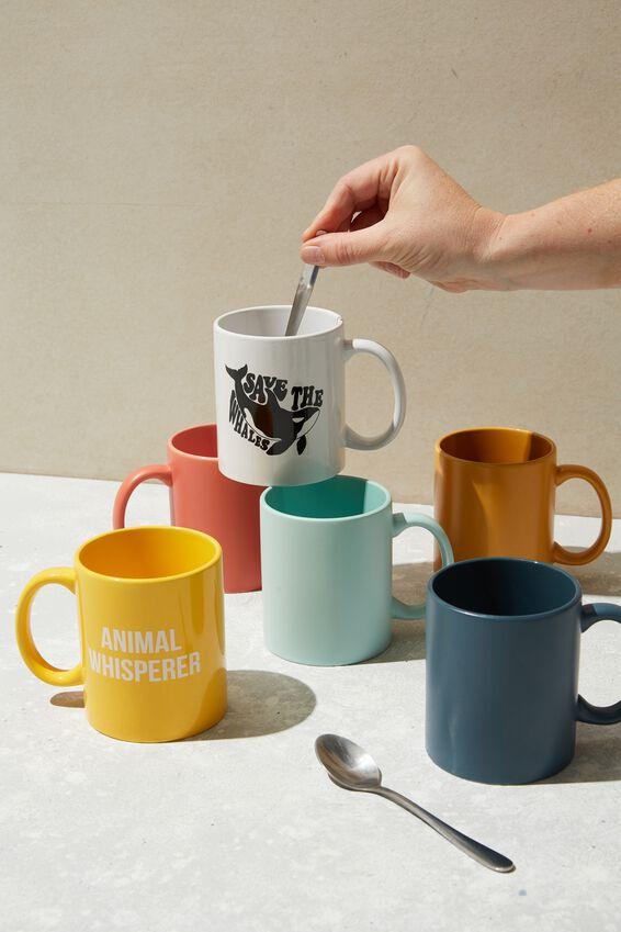 Anytime Mug, SAVE THE WHALES