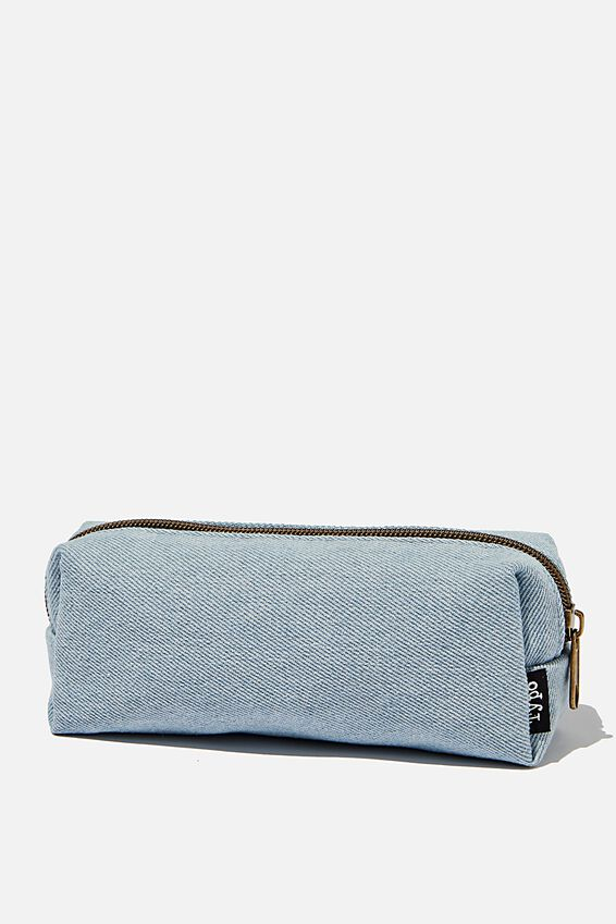 Bailey Pencil Case, CHAMBRAY