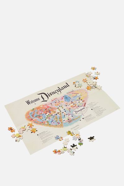 1000 Piece Puzzle, LCN DIS DISNEYLAND MAP