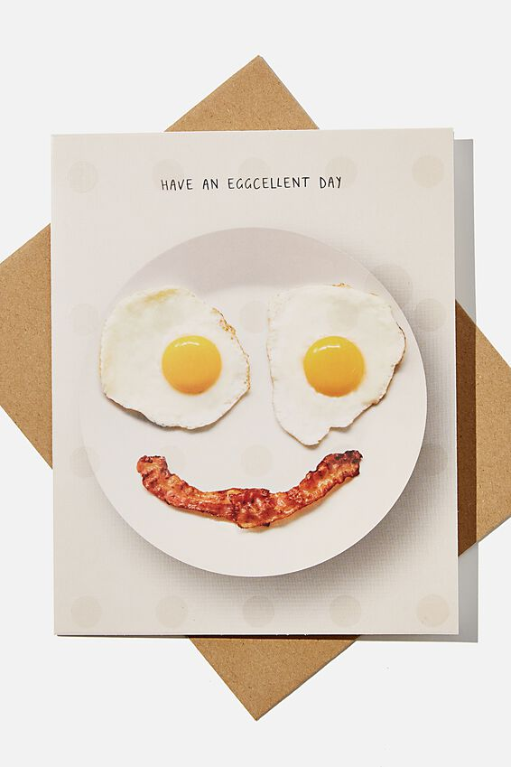 Premium Blank Card, SCENTED HAVE AN EGGCELLENT DAY