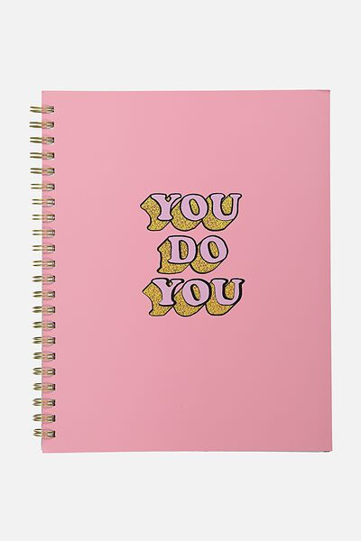 A4 Campus Notebook - 240 Pages, YOU DO YOU