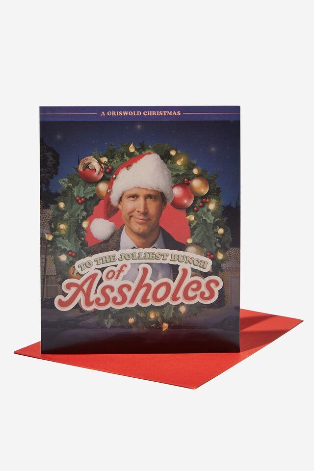 Christmas Card 2021, LCN WB NATIONAL LAMPOONS JOLLIEST ASSHOLES!