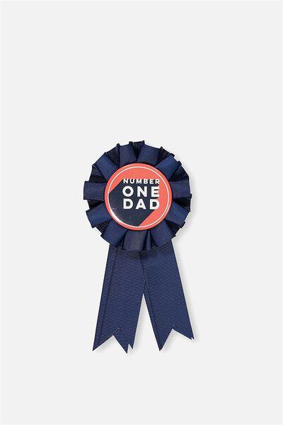 Badge Of Honour, NO 1 DAD 2018