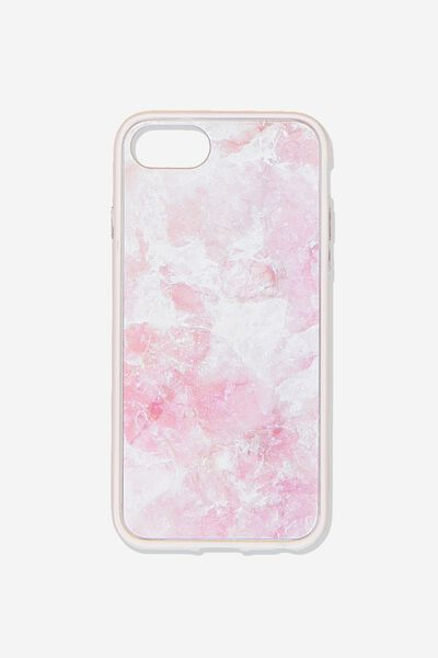 Snap On Protective Phone Case 6, 7, 8, PINK QUARTZ