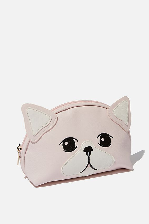 Cosmetic Bag, BLUSH CAT