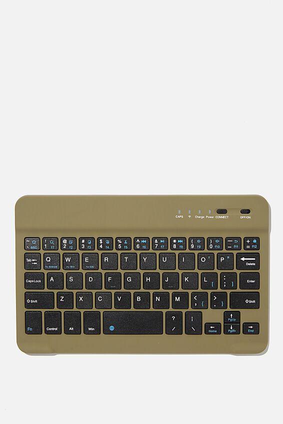 Oh Shift Wireless Keyboard, KHAKI