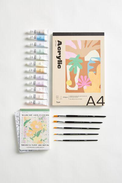 Art Gift Set, ACRYLIC ART SET