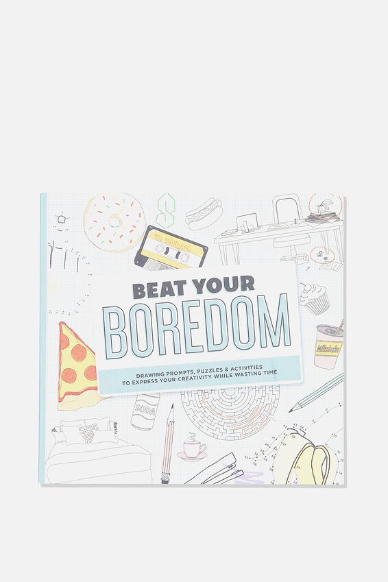 Between The Lines Colouring Book, BEAT YOUR BOREDOM