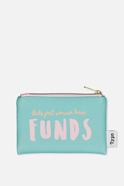 Campus Coin Purse, BLUE FUNDS