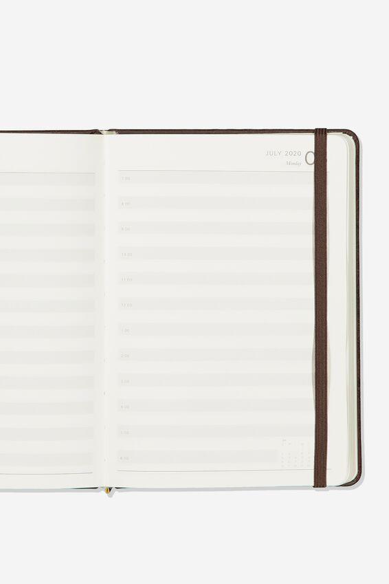 2020 A5 Daily Buffalo Diary, RICH TAN