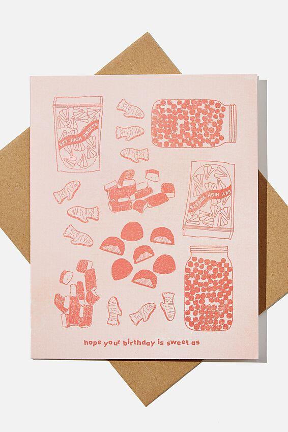 Nice Birthday Card, RG NZ SWEETAS