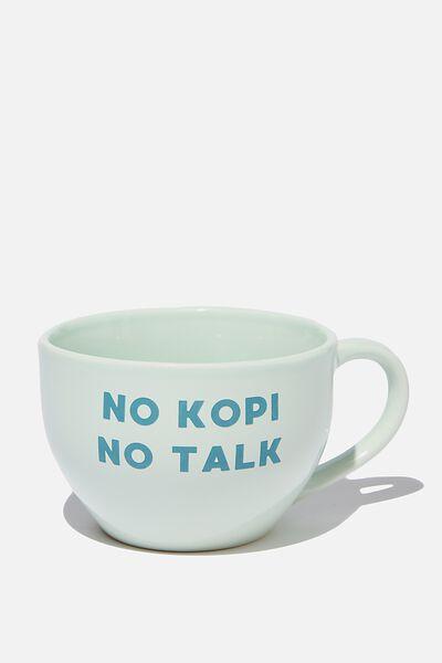 Big Mouth Mug, NO KOPI