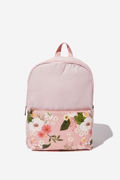 Everyday Backpack, BLUSH FLORAL