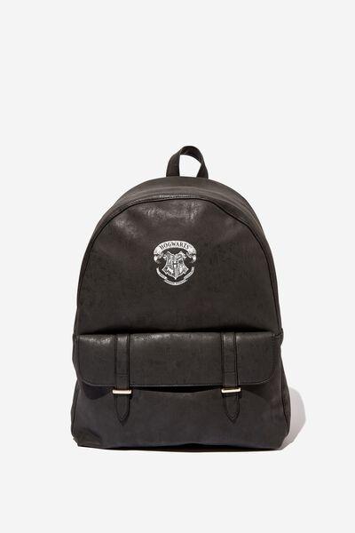 Scholar Backpack, LCN WB BLACK HARRY POTTER EMBLEM