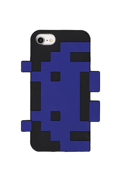 Shaped Silicone Phone Cover Universal 6,7,8, LCN SPACE INVADERS
